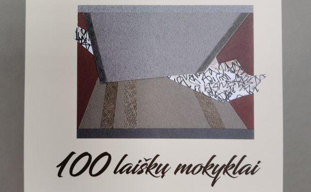 """""""100 laiškų mokyklai"""" knyga"""