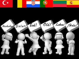 Įvairių šalių pasisveikinimai